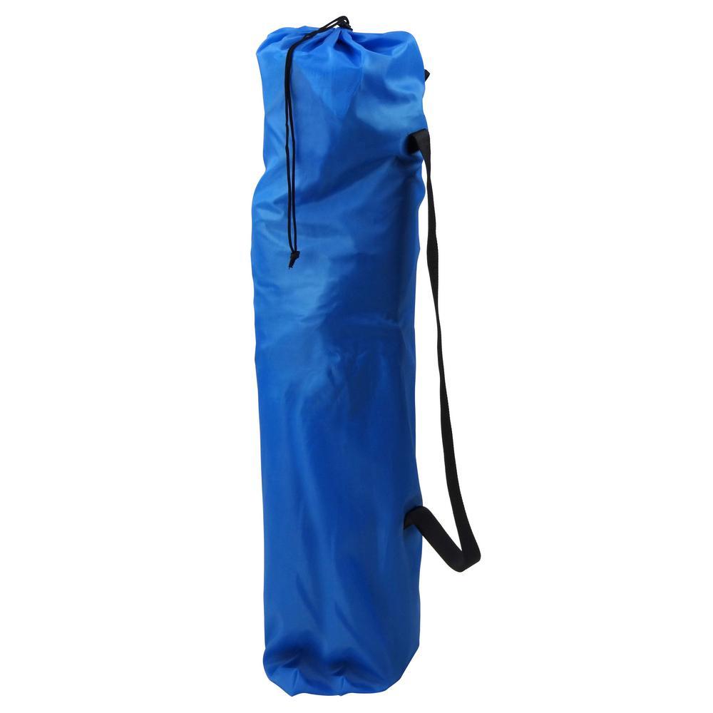 Gigatent Ergonomic Portable Footrest Camping Chair Blue