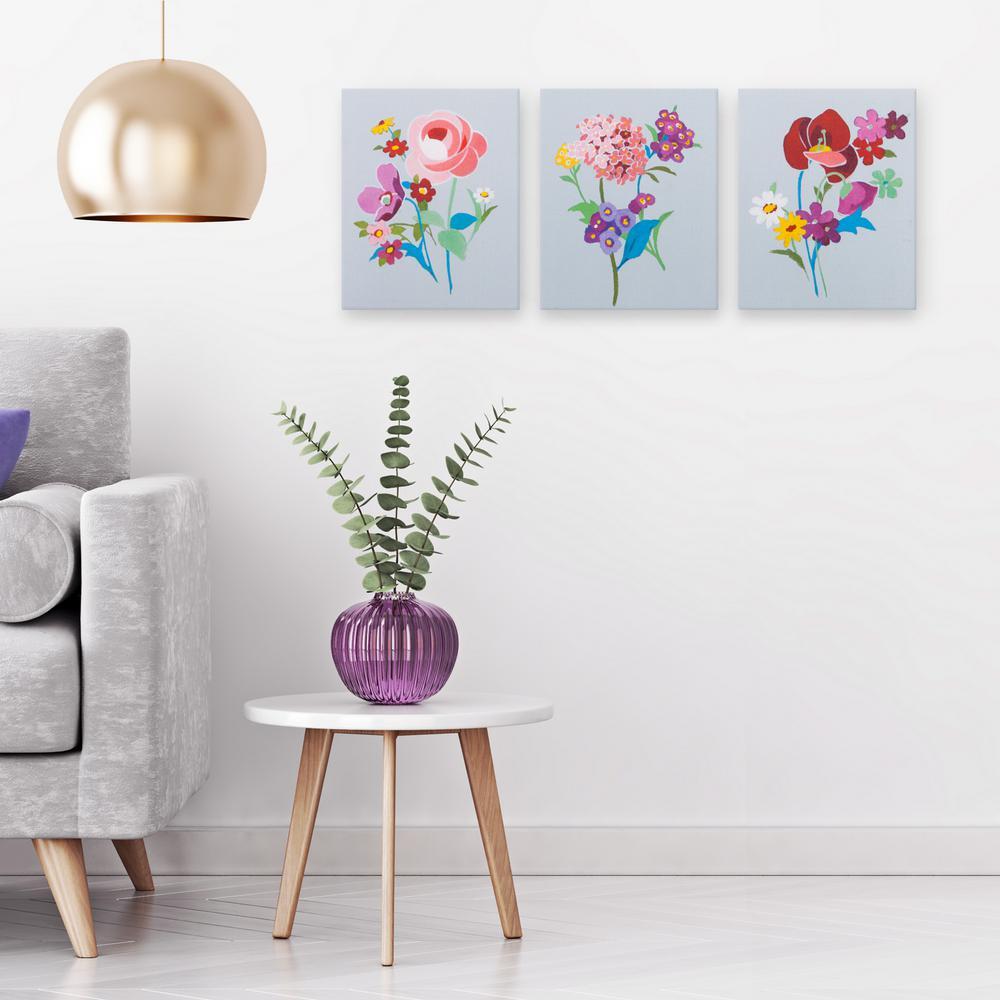 Alpine Floral Canvas Wall Art
