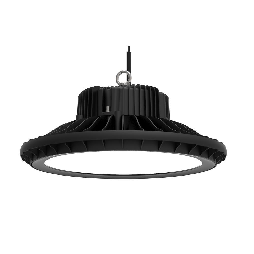 UFO 240-Watt Black Integrated LED High Bay-JH-UHB240W-46G