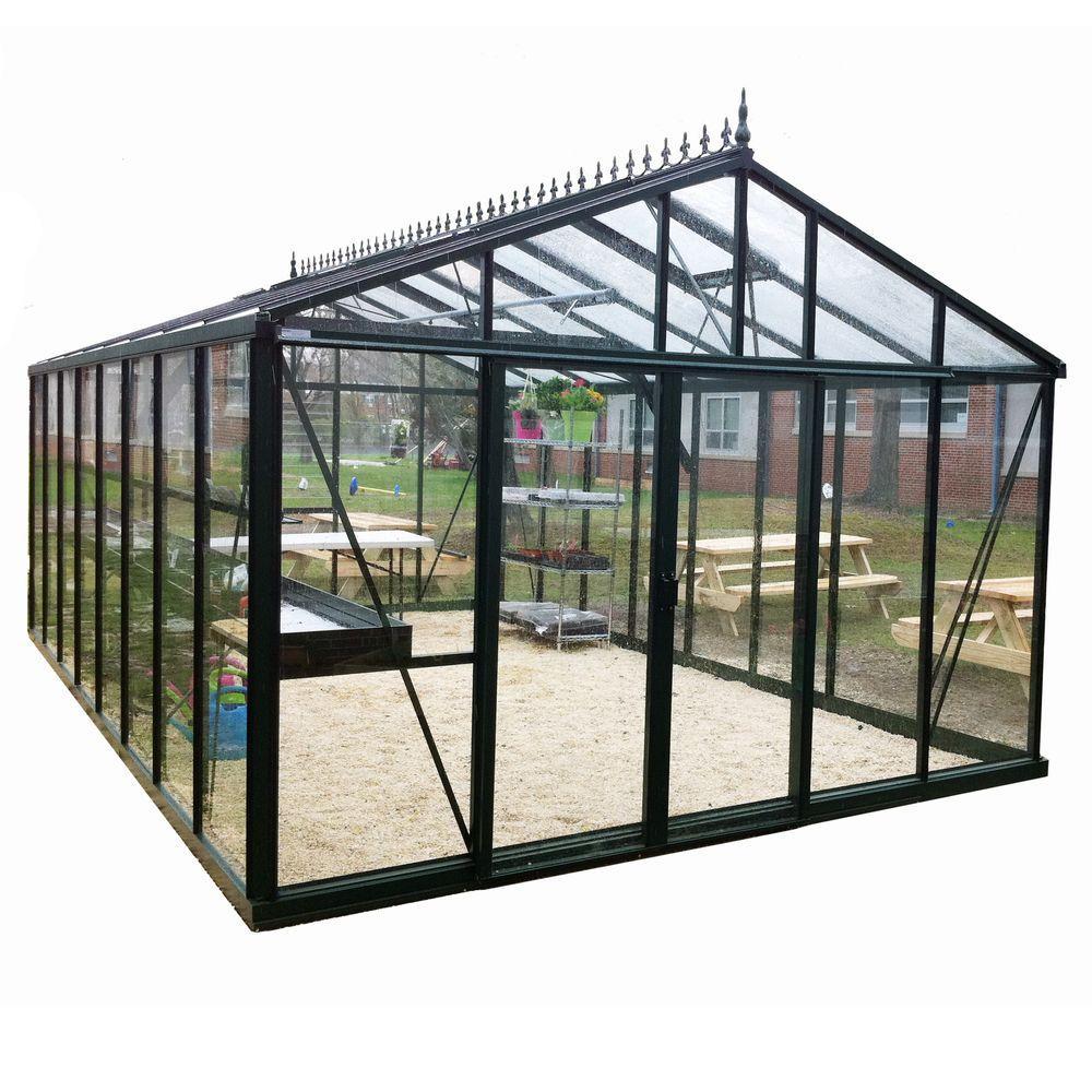 Exaco Royal Victorian 12.5 ft. x 20 ft. Greenhouse by Exaco