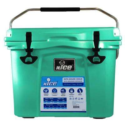 22 qt. Sea Foam Green Cooler