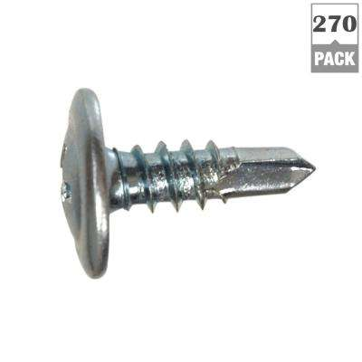 #8 x 1/2 in. Truss Head Phillips Drive Lath Self-Drilling Screw 1 lb. Box (270-Pack)
