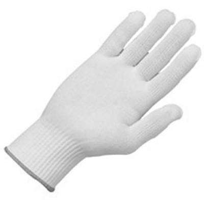 10 g Tetoron Poly Fiber Full Finger Glove Liners, 12-Pair