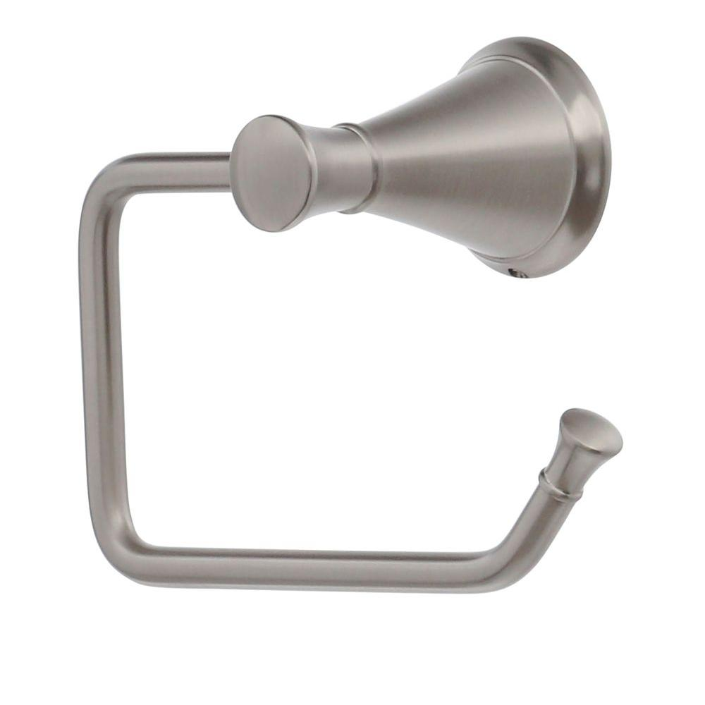 Pfister Pasadena Single Post Toilet Paper Holder in Brushed Nickel