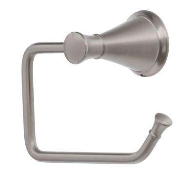 Pasadena Single Post Toilet Paper Holder in Brushed Nickel