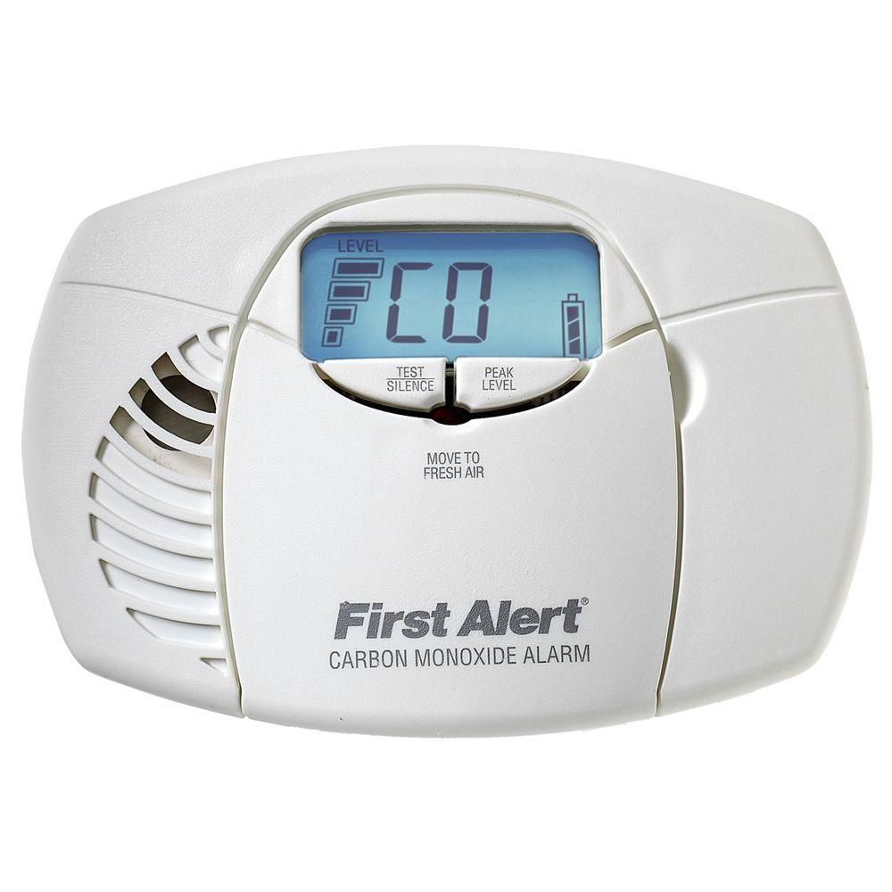 First Alert Battery Powered Carbon Monoxide Alarm with Digital Display
