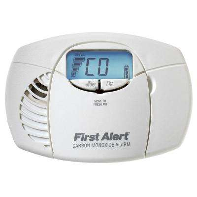Battery Powered Carbon Monoxide Detector Alarm with Digital Display