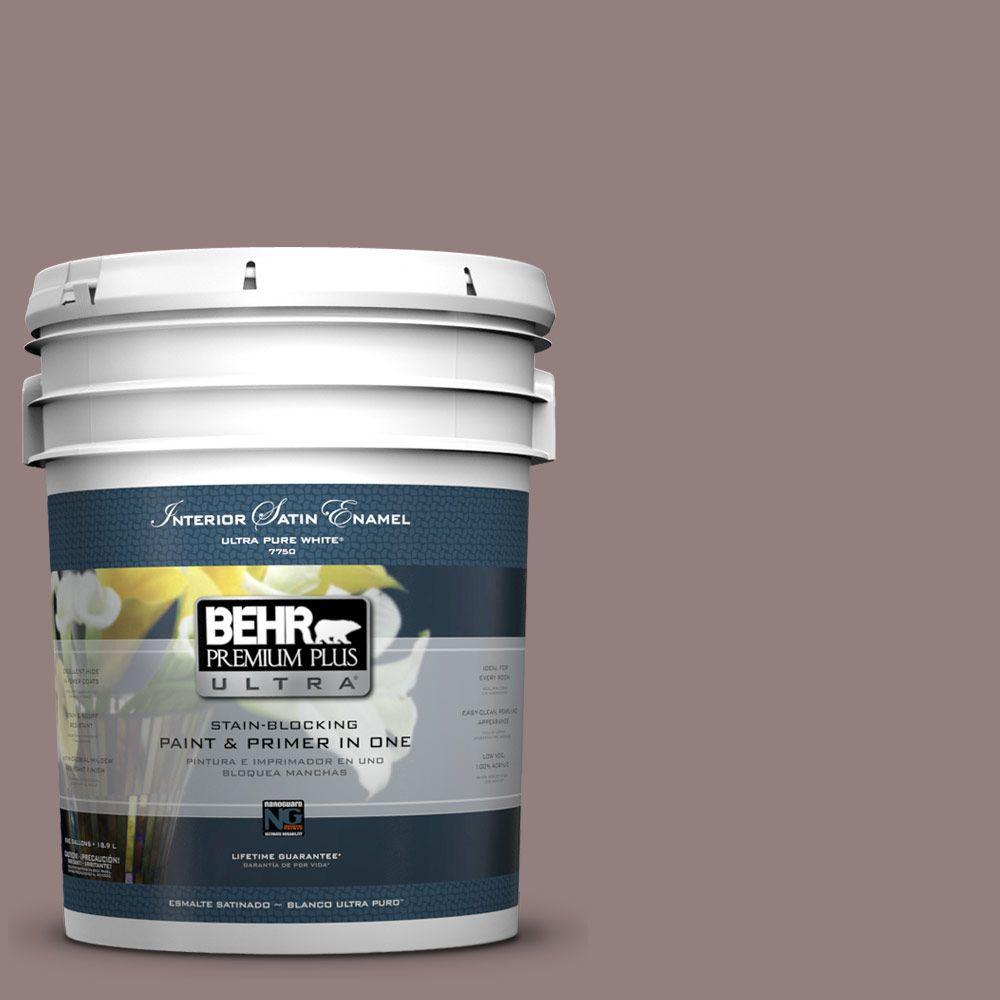 BEHR Premium Plus Ultra 5-gal. #730B-5 Warm Embrace Satin Enamel Interior Paint
