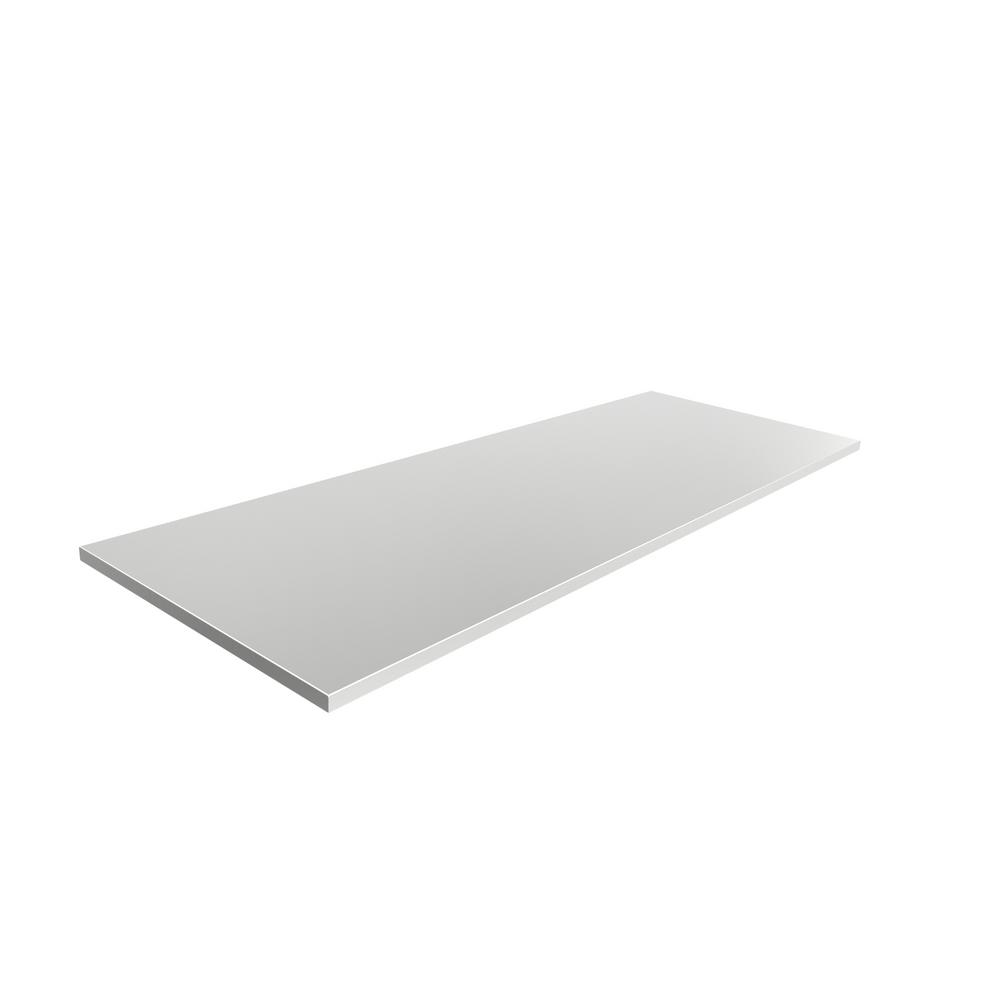 Stainless Steel 66 in. Adjustable 66X24X1 In. Counter Top