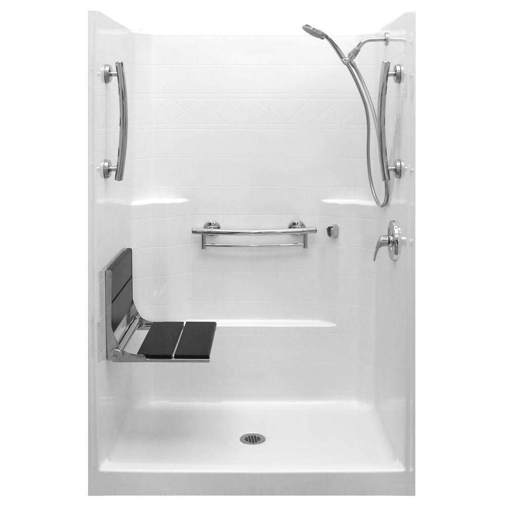 Imperial-SAFS 37 in. x 48 in. x 80 in. 1-Piece Low