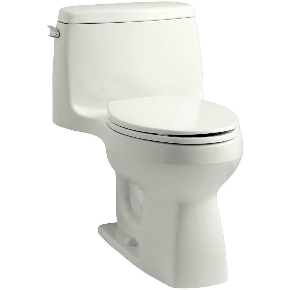 Santa Rosa Comfort Height 1-piece 1.6 GPF Single Flush Compact Elongated