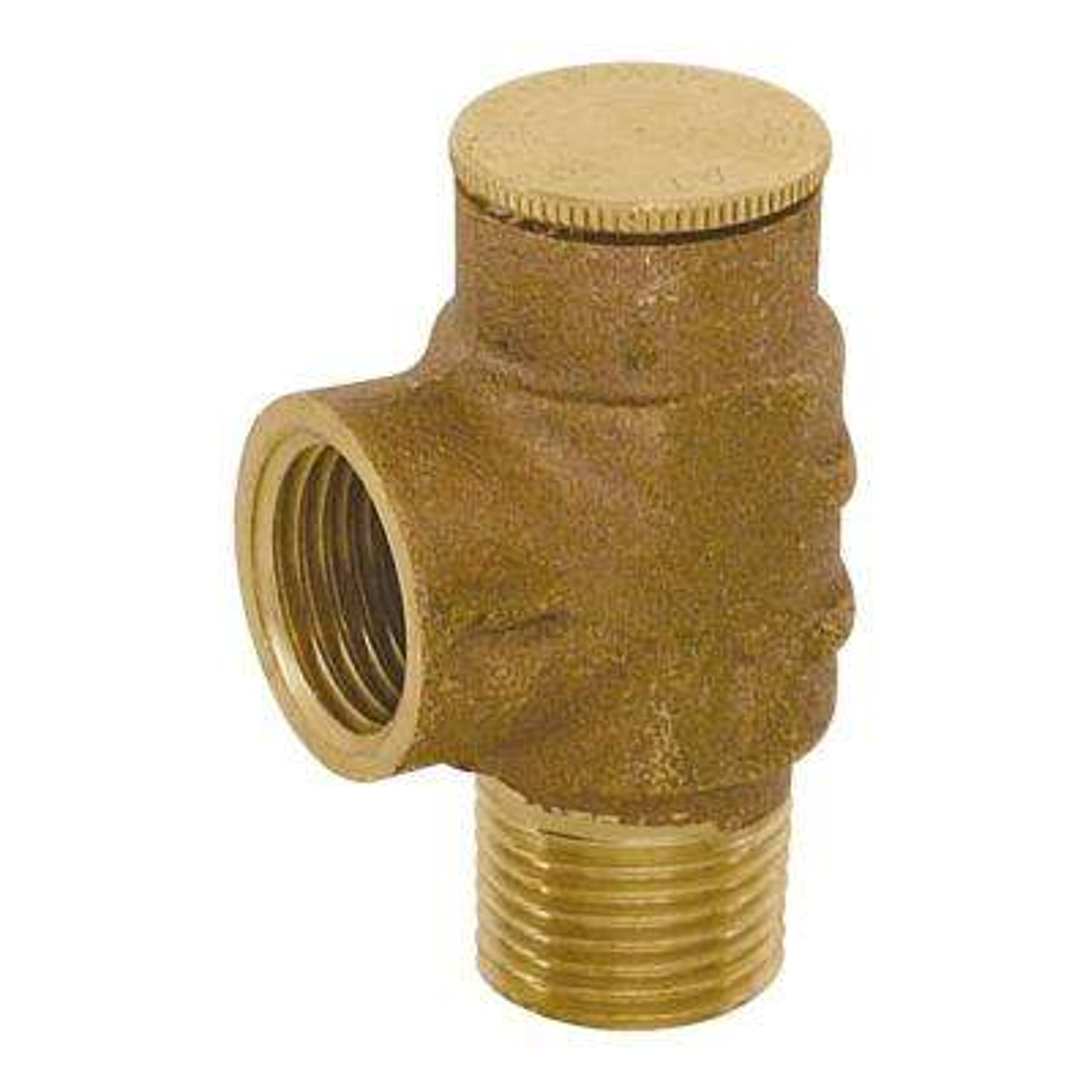 1/2 in. Brass IPS Pressure Relief Valve