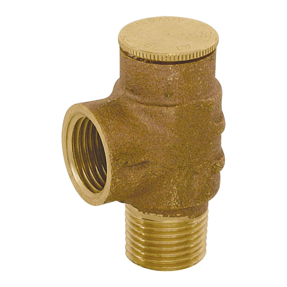 1/2 in. Brass IPS Pressure Relief Valve