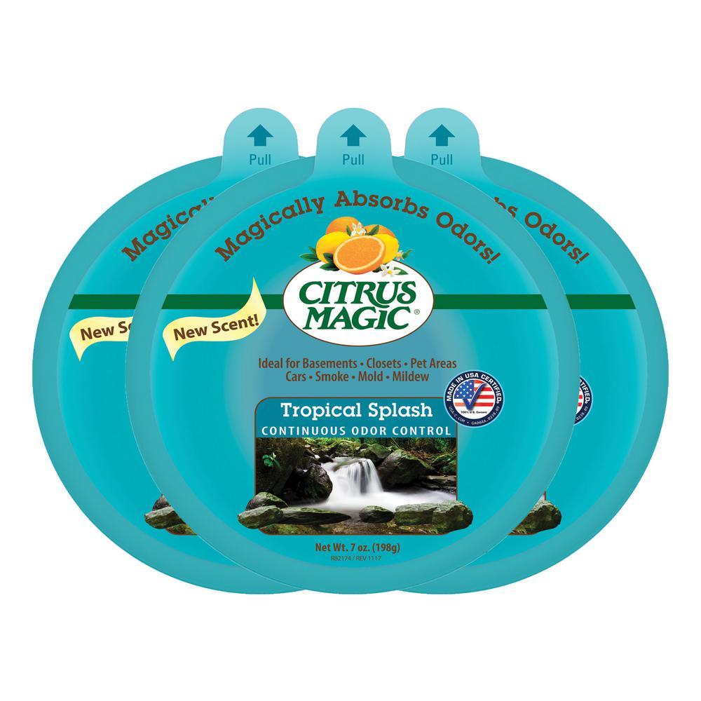 7 oz. Tropical Splash Each Solid Air Freshener (Pack of 3)