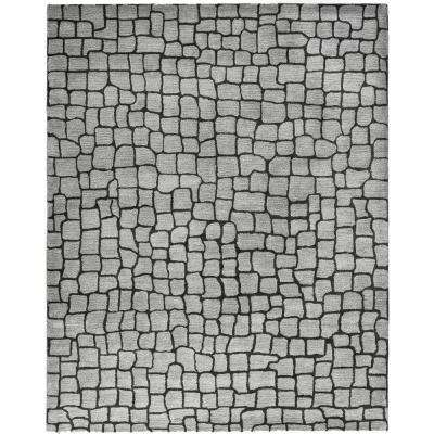 Soho Silver/Grey 7 ft. 6 in. x 9 ft. 6 in. Area Rug