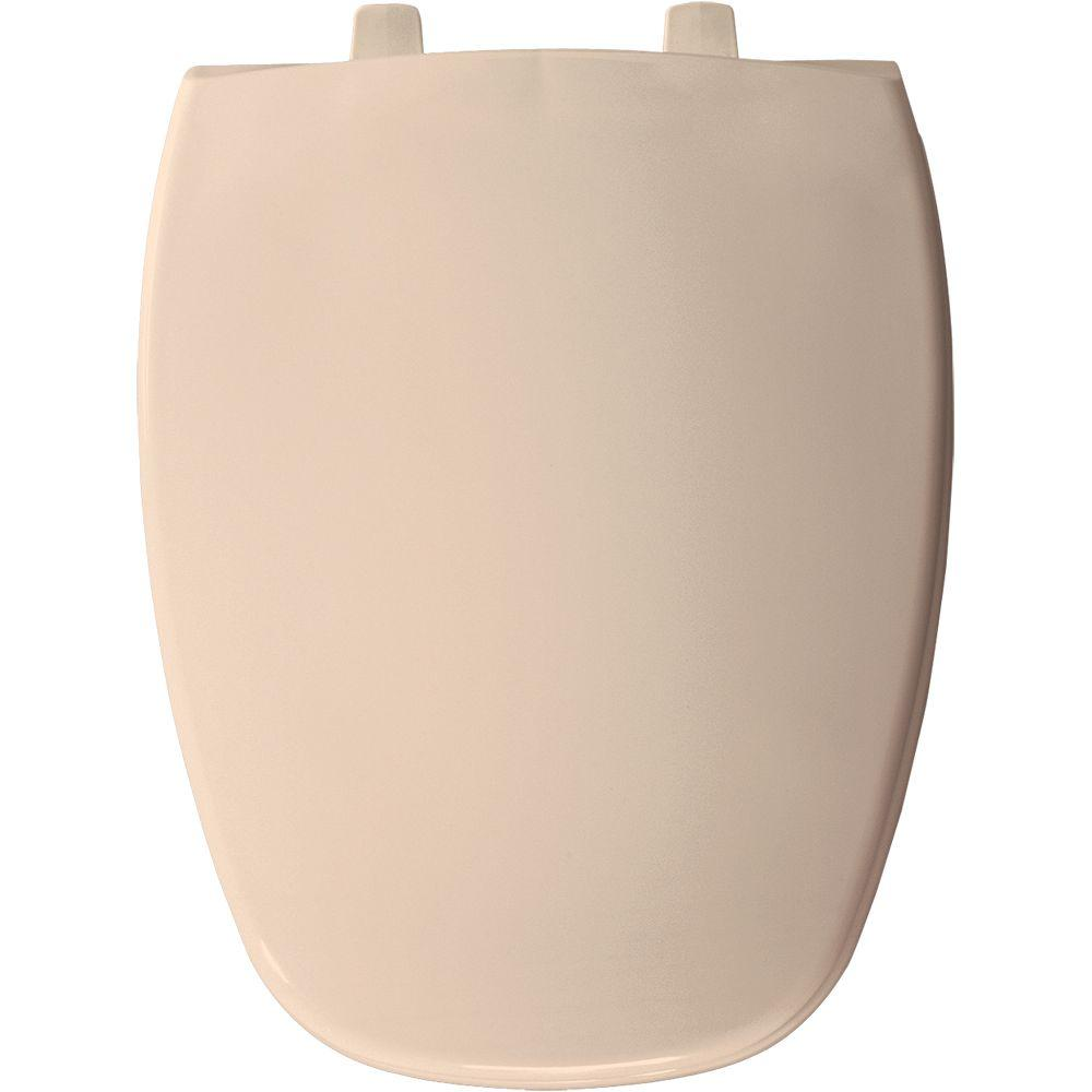 BEMIS Elongated Closed Front Toilet Seat in Natural
