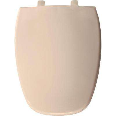 Elongated Closed Front Toilet Seat in Natural