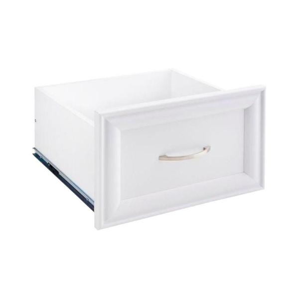 Selectives 16 in. W x 10 in. H White Wood Drawer Kit for 16 in. Selectives Tower