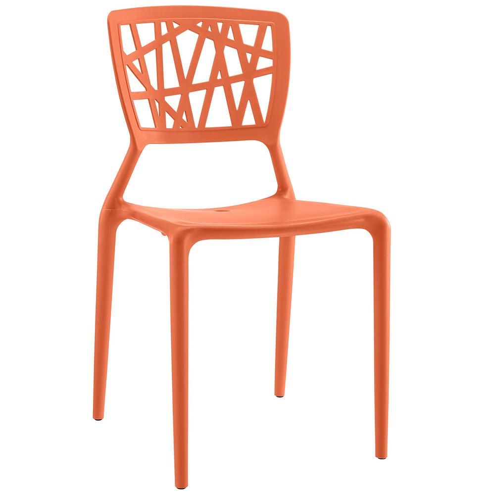 Astro Orange Dining Side Chair