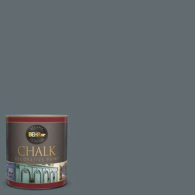 1-qt. #BCP44 Onyx Gray Interior Chalk Finish Paint