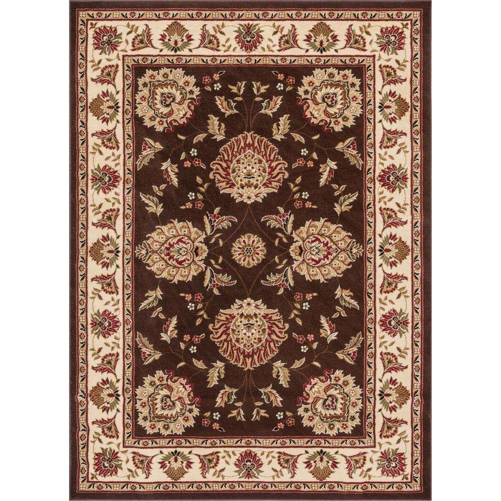 well woven timeless abbasi brown traditional oriental 11 ft x 15 ft area rug 3607t the home. Black Bedroom Furniture Sets. Home Design Ideas