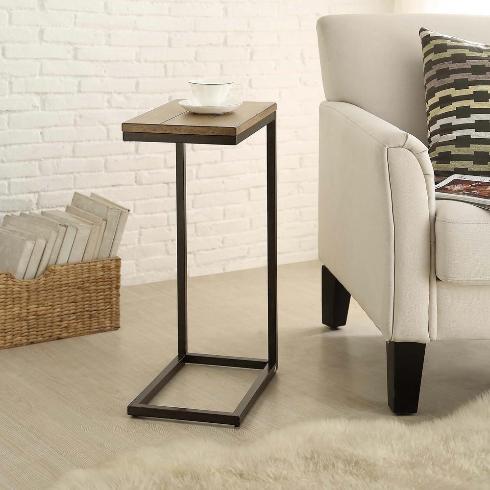 Internet #206682614. Carolina Cottage Aggie Powder Coated Tray Side Table
