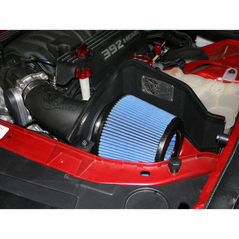 aFe POWER Magnum FORCE Stage-2 Pro 5R Cold Air Intake System for Dodge  Challenger/Charger/Chrysler 300 SRT-8 11-18 V8-6 4L HEMI