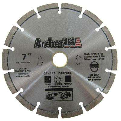 7 in. Diamond Blade for General Purpose