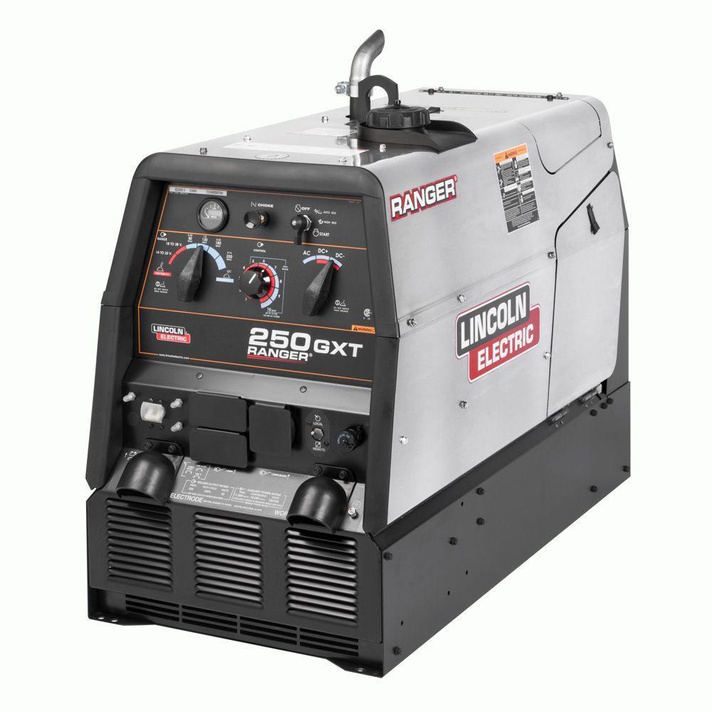 250 Amp Ranger 250 GXT Gas Engine Driven Welder (Kohler) w/ Stainless Case, Multi-Process, 11 kW Peak AC Generator Power