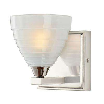 Bovoni 1-Light Polished Nickel Wall Mounted Light