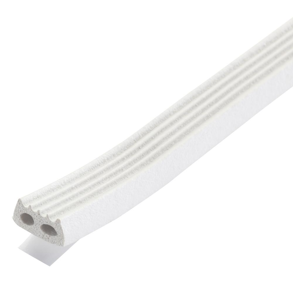 M-D Building Products Premium 5/16 in. x 10 ft. White Weatherstrip for Large Gaps