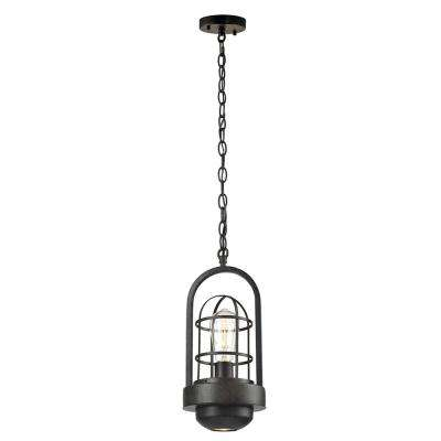 Siskel 1-Light Antique Bronze Pendant