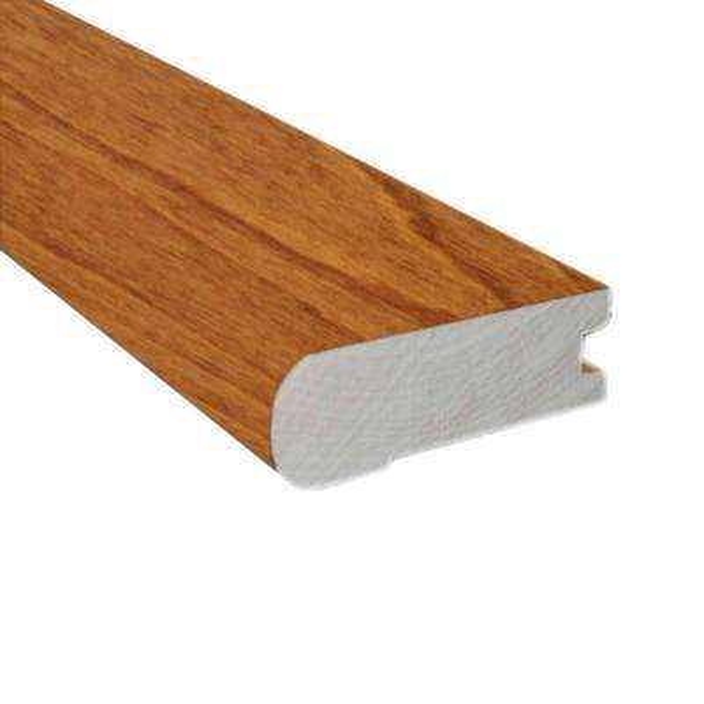 Birch Dark Gunstock 0.81 in. Thick x 2-3/4 in. Wide x 78 in. Length Flush Mount Stair Nose Molding