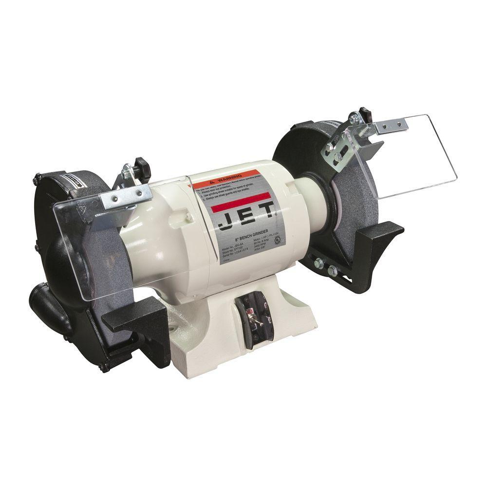 1.5 HP 10 in. Industrial Metalworking Bench Grinder, 115-Volt JBG-10A