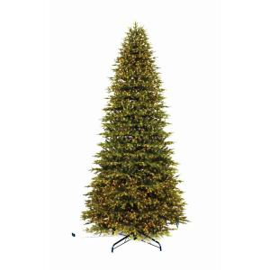 Home Accents Holiday 12 Ft Pre Lit Led Aspen Fir Quick