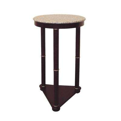 Cherry Marble Top End Table