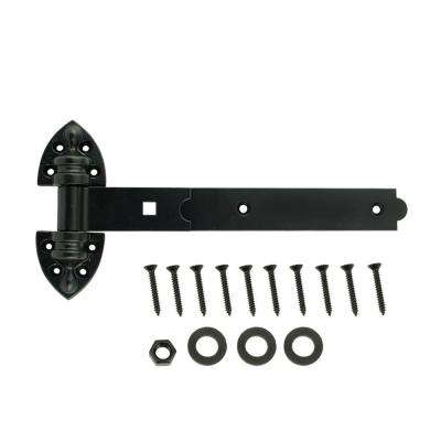 12 in. Black Extra Heavy Duty Tee Hinge