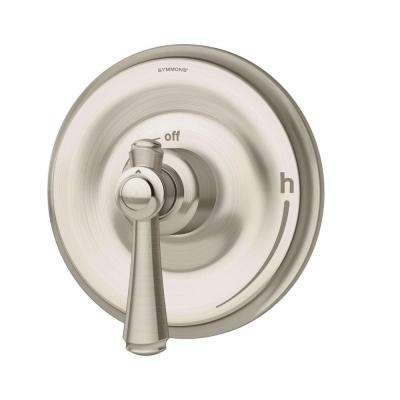 Degas 1-Handle Shower Trim with Valve in Satin Nickel