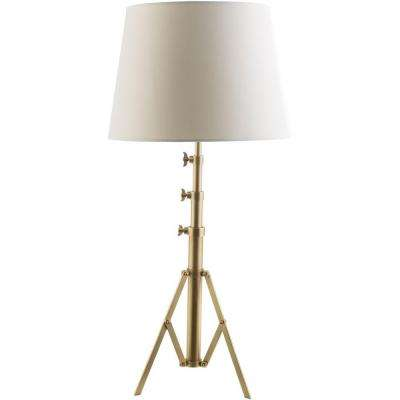 Caselli 37 in. Antique Brass Indoor Table Lamp