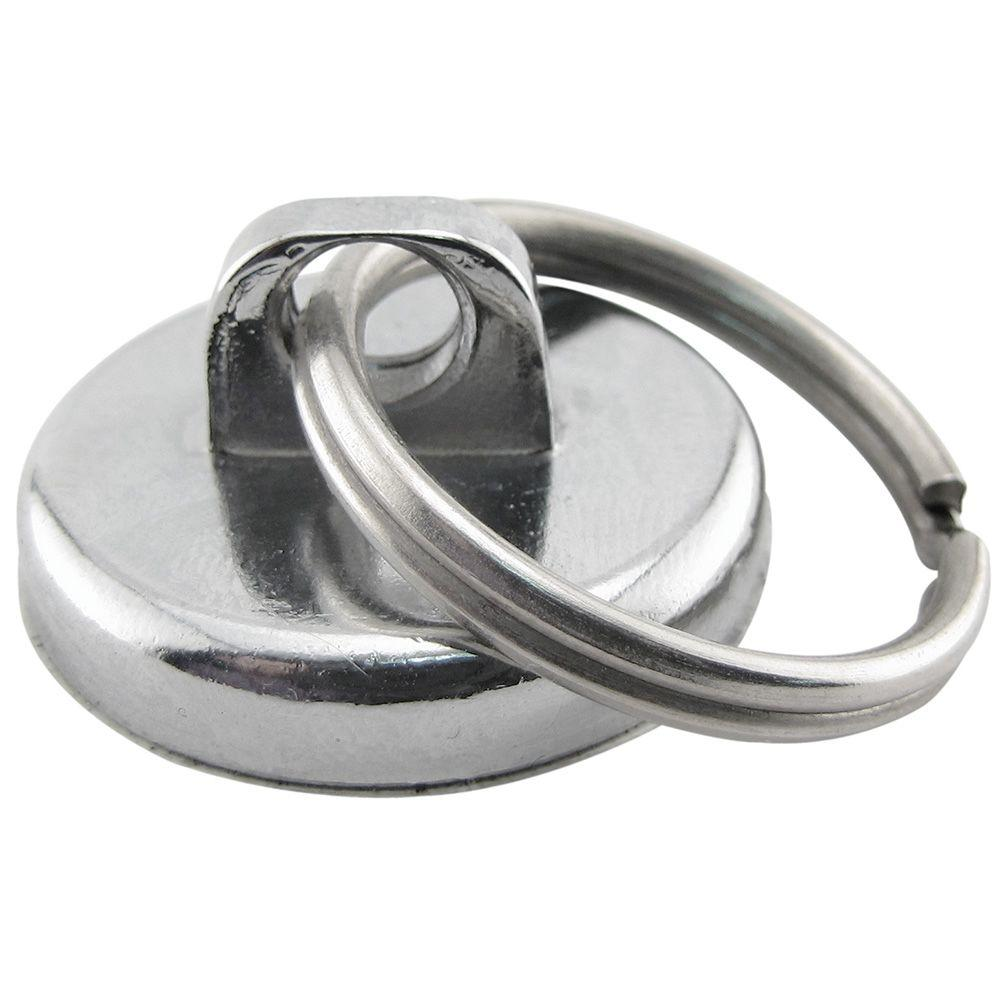 MASTER MAGNETICS 35 lb. Neodymium Magnet Pull with Key Ring-97994 ...