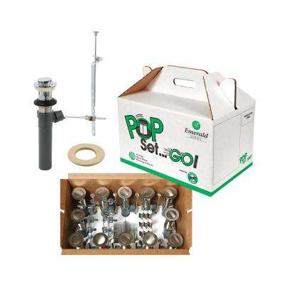 Pop Set Go Kit Chrome with Putty