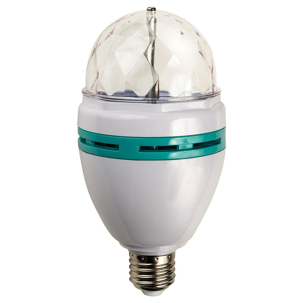 20W Equivalent Multi Color Rotating LED Party Light Bulb