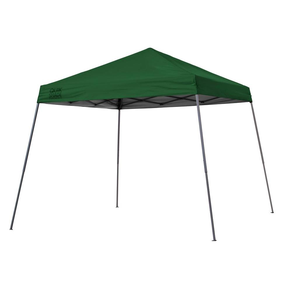 Expedition EX81 12 ft. x 12 ft. Green Instant Canopy