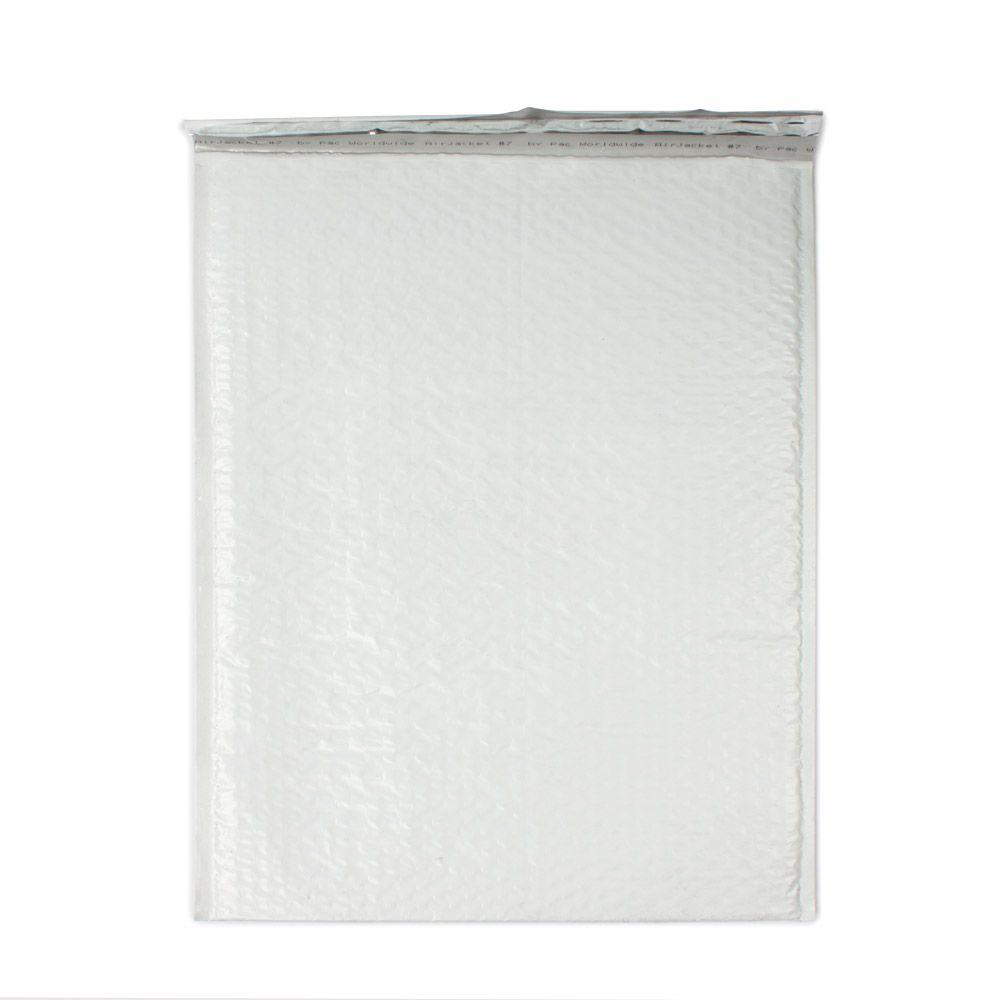 14.25 in. x 19.25 in. White Poly Bubble Mailers Envelope with