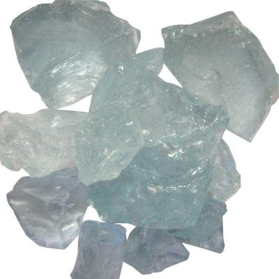 0.75 in. Aqua Recycled Fire Glass