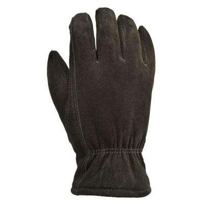 Winter Suede Deerskin Large Black 40 g Thinsulate Gloves