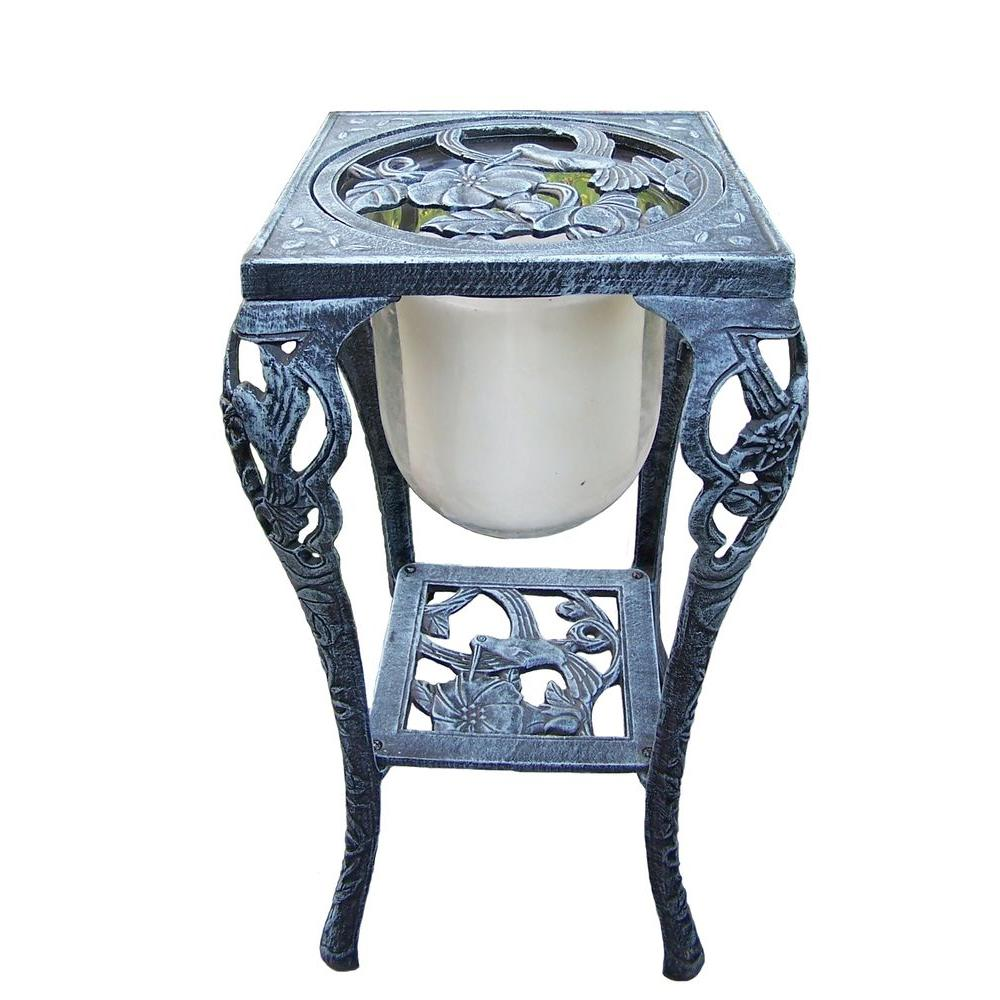 Oakland Living 26-1/2 in. Hummingbird Candle Holder with Candle