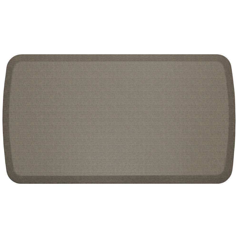 GelPro Elite Linen Granite Grey 20 In. X 36 In. Comfort Kitchen Mat