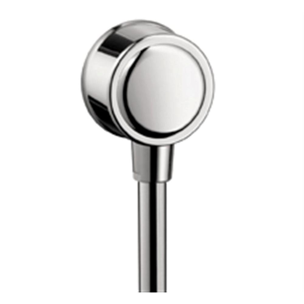 Hansgrohe C Wall Outlet with Check Valve in Chrome-16884001 - The ...