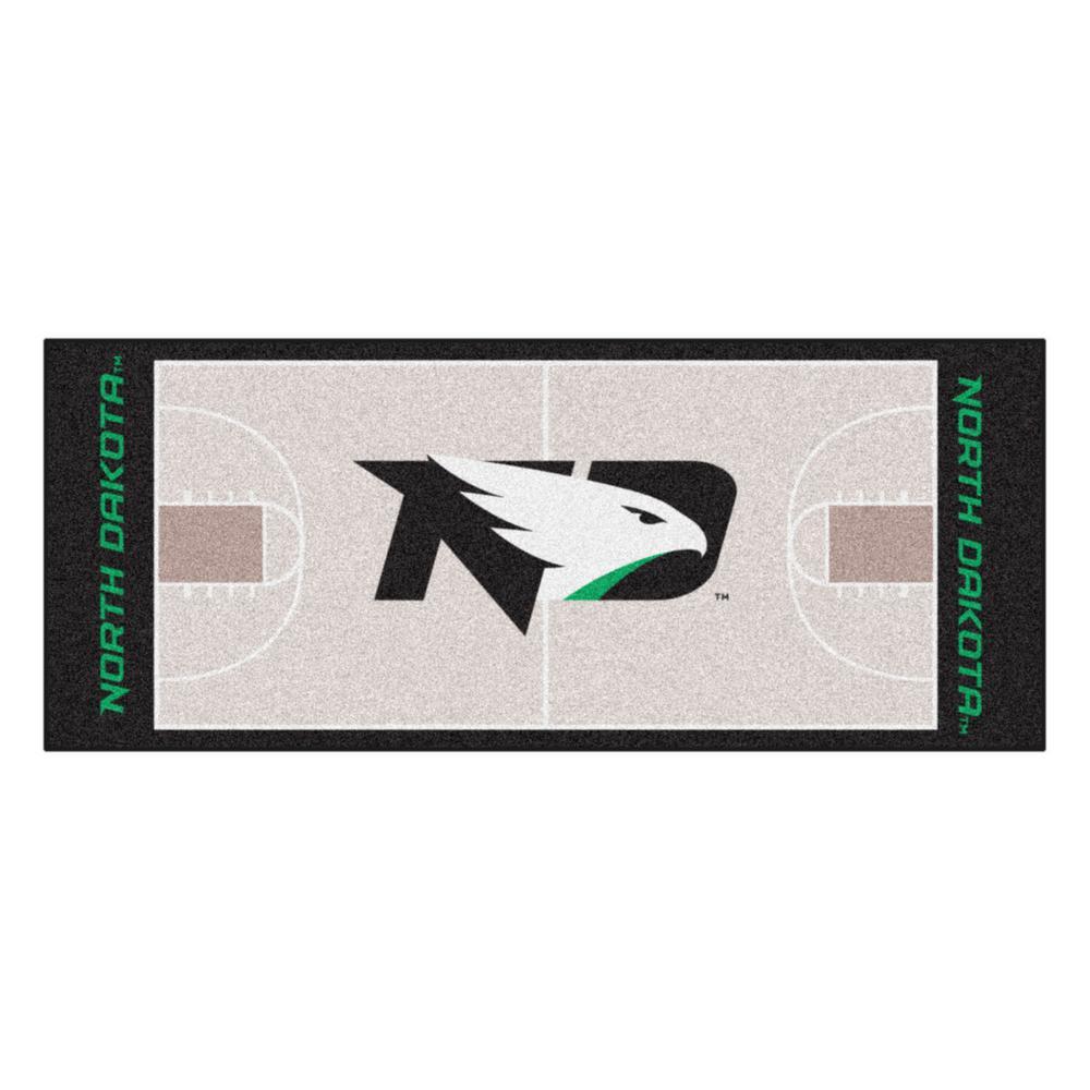 premium selection 00c61 f6568 FANMATS NCAA University of North Dakota 30 in. x 72 in. Basketball Court  Runner